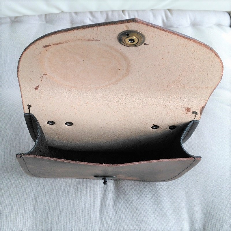 Celtic Leather Craft Belt Bag Triangle Knot Belt Bag