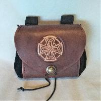 Belt Pouch - wide Belt Pouch - wide - Celtic Cross