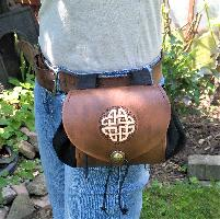 Belt Pouch - wide Belt Pouch - wide - Celtic Knot