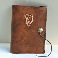 Book Cover Boock Cover A5 Celtic Harp