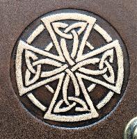 Book Cover Book Cover A5 Celtic Cross