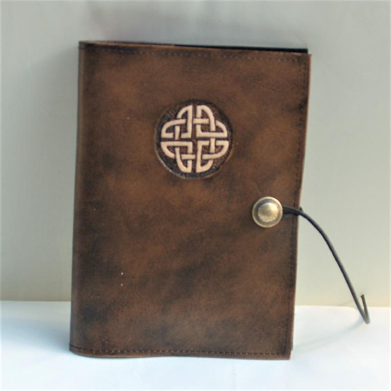 Celtic Leather Craft Book Cover A5 Celtic Knot Book Cover