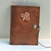 Book Cover Book Cover A5 Shamrock No.2