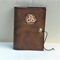 Book Cover Book Cover A5 Triquetra Tribal