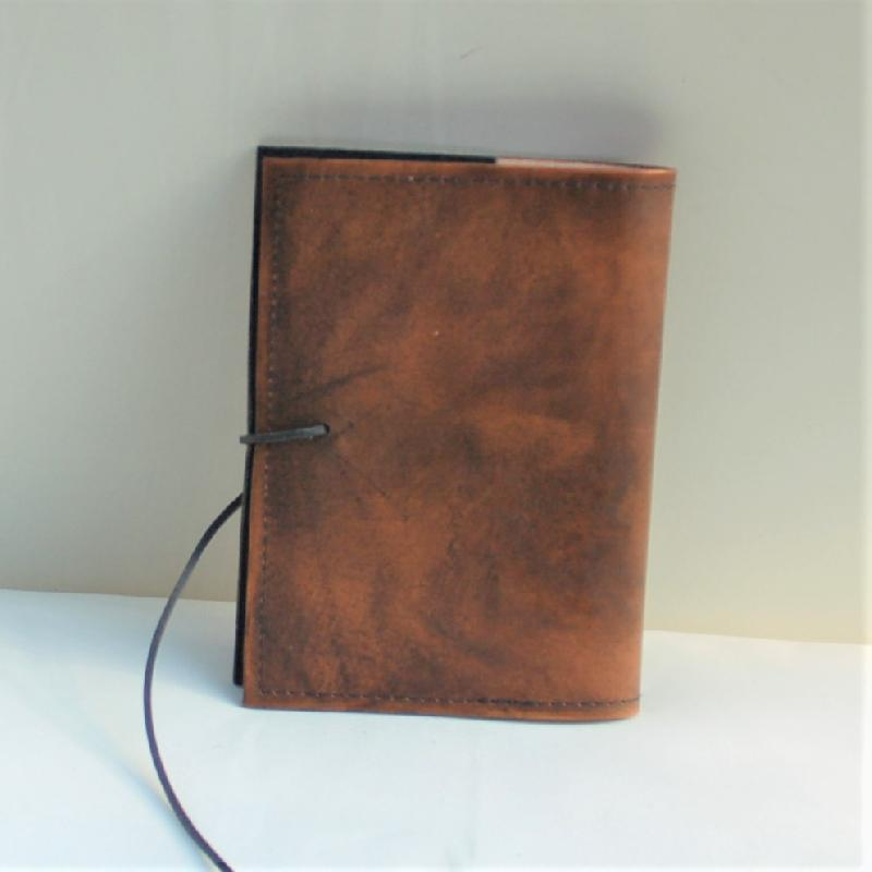 Celtic Leather Craft Book Cover A6 Yggdrasil Book Cover