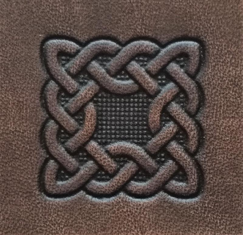 Celtic Leather Craft dark brown Colours