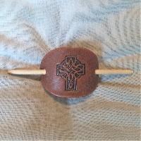 Hair Slide - small Hair Slide - small Celtic Cross II