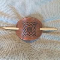 Hair Slide - small Hair Slide - small Celtic Knot