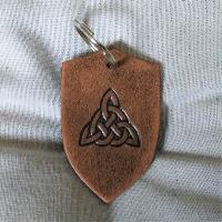 Key Chain Key Chain Celtc Knot triangle
