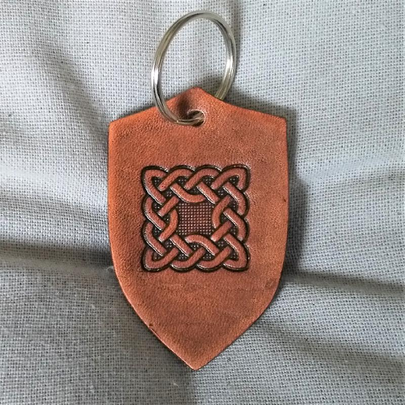 Celtic Leather Craft Key Chain Celtic Knot Key Chain