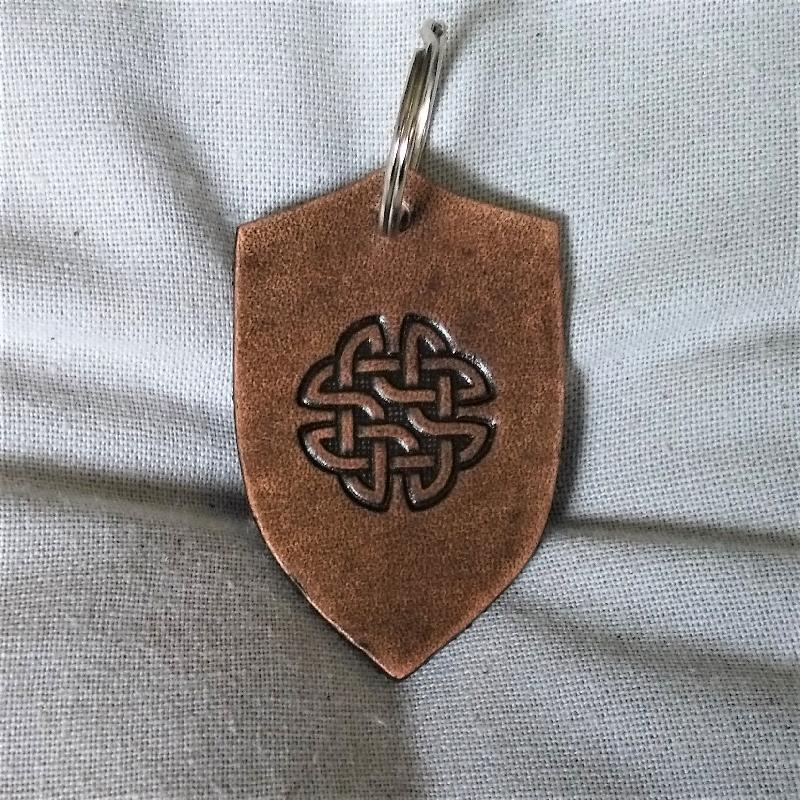 Celtic Leather Craft Key Chain Key Chain