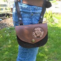 Shoulder Bag - small Shoulder Bag small Open Triad