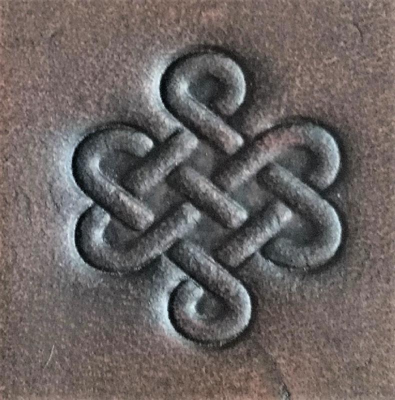 Celtic Leather Craft Small Belt Bag Celtic Knot Small Belt Bag