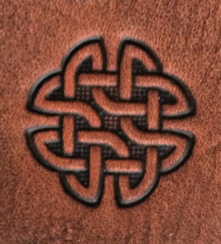 Celtic Leather Craft tan Colours