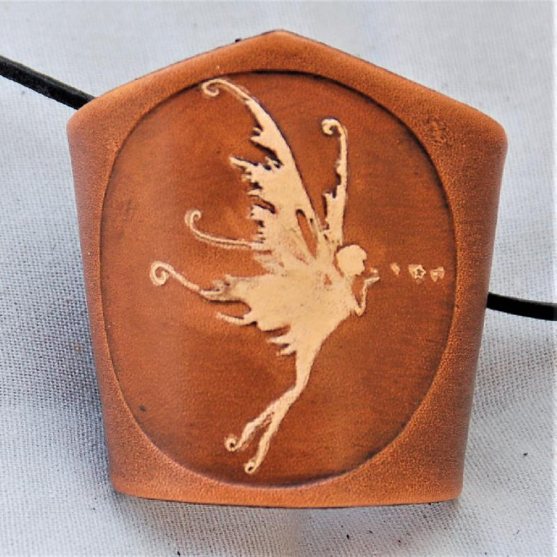 Celtic Leather Craft Wristband Fairy Wristband